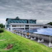 'Солнечный парк' открылся на базе Sauber в Хинвиле Фото №1