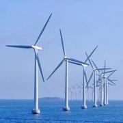 Строительство морского ветропарка East Anglia Фото №1