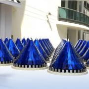 Конусообразные солнечные батареи Фото №1
