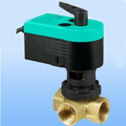 New Frakta three way valves with electric drive Фото №1