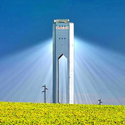 China's first solar thermal power demonstration plant Фото №1