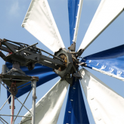 The Wind Turbine with Fabric-Covered Blades Фото №1