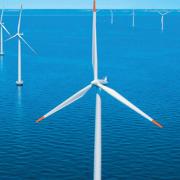 Строительство морского ветропарка в Германии Фото №1
