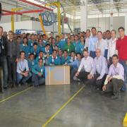 Новый завод компании-производителя MDV  Фото №1