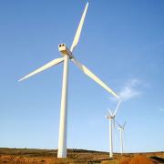 Ветровая электростанция в Сербии Фото №1