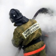 A fire in the boiler room in Tatarstan