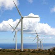Ветряные электростанции в Канаде Фото №1