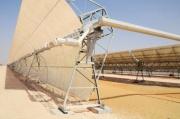 Электростанция концентрированной солнечной энергии Shams 1 Фото №1