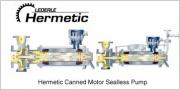 Жидкостно-кольцевой вакуумный насос компании Hermetic-Pumpen Фото №1