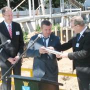 Заложен первый камень нового завода «Bosch Термотехника» Фото №1