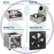 Новые модели ЕС-вентиляторов SYSTEMAIR Фото №1