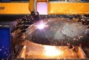 «Омский завод инновационных технологий» осуществил запуск портальной машины для плазменной резки.  Фото №2