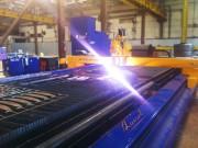 «Омский завод инновационных технологий» осуществил запуск портальной машины для плазменной резки.  Фото №1