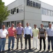 Демонстрация производственных мощностей Rehau в Германии Фото №1