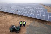 Крупнейшая в Европе солнечная электростанция на месте советского аэродрома Фото №1