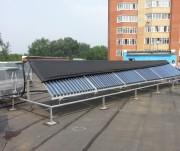 Первый объект с солнечными коллекторами Meibes в Перми Фото №4