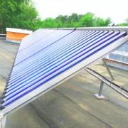 Первый объект с солнечными коллекторами Meibes в Перми Фото №1