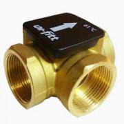 Трехходовые термостатические клапаны для применения в системах с твердотопливными или жидкотопливными котлами.