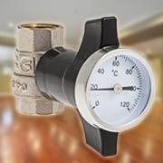 Новый шаровой кран с термометром от Valtec