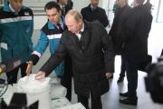 Путин запустил крупнейший в России завод полипропилена Фото №1