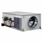 Компактные приточные установки с водяным нагревателем CAPSULE W