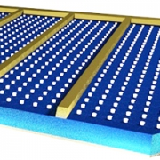 Солнечные панели с 'шипами'
