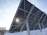 Снег повышает эффективность солнечных батарей Фото №1