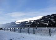 Снег повышает эффективность солнечных батарей Фото №2