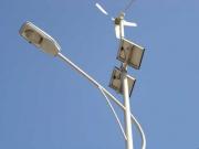 Ветро-солнечная система уличного освещения в Хакасии Фото №1