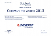 PEDROLLO has been honored by the award COMPANY TO WATCH Фото №2