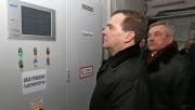 Дмитрий Медведев на биогазовой станции «Лучки» (Белгород)