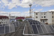 Солнечная электростанция на ОАО «Сахаэнерго» (Якутск)