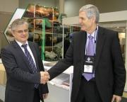 Директор дивизиона Системы Геллера GEA EGI г-н Янош Сита и директор департамента «Энергетика и судос