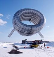 На Аляске начались испытания надувной ветроэлектростанции