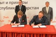 В Казани подписано cоглашение между Республикой Татарстан и концерном Danfoss A/S