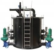 Установка для водоотведения с системой сепарации твердых частиц Wilo–EMUport