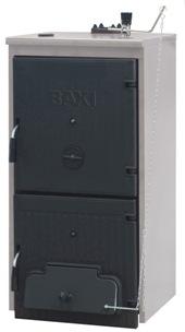 напольные чугунные твердотопливные котлы BAXI серии BPI-Eco