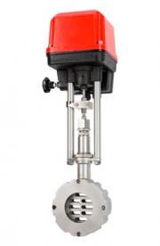 Регулирующий клапан шиберного типа с интеллектуальным приводом высокой точности серии 8038