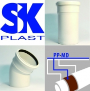 Система канализации «SK-PLAST серии КОМФОРТ'