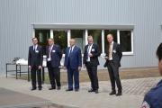 Церемония открытия завода Бош Будерус
