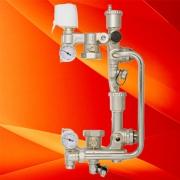 Новый комплект насосно-смесительного узла для водяного теплого пола VT.COMBI.S