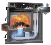 Успешное испытание котла модели KF для твёрдого топлива