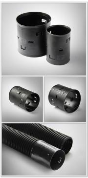Новые муфты для дренажных труб POLYTRON ProDren