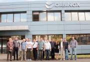 Посещение производства компании Orbinox