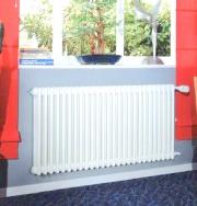 Прочностные испытания стального трубчатого радиатора Zehnder Charleston