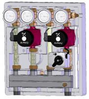Первые поставки насосно-смесительного модуля Kombimix Фото №1