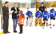 Компания BAXI S.p.A. стала спонсором детского турнира по хоккею с шайбой Фото №1