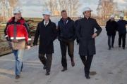 Ход строительства завода WILO в Ногинске Фото №3