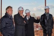 Ход строительства завода WILO в Ногинске Фото №1
