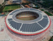 Турция откроет свой первый стадион, работающий на энергии солнца Фото №1